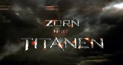 3D Actionspektakel Zorn der Titanen