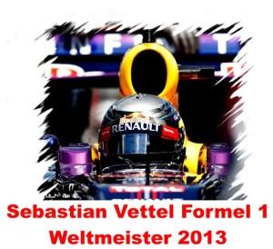 Sebastian Vettel F1 Weltmeister 2013