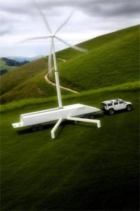 Uprise Portable Windenergieanlage 2