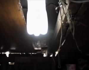 Ein Liter Licht - PET Flasche als Lichtquelle (Bild: screenshot youtube)