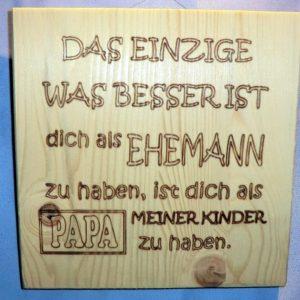 Holz-Schilder